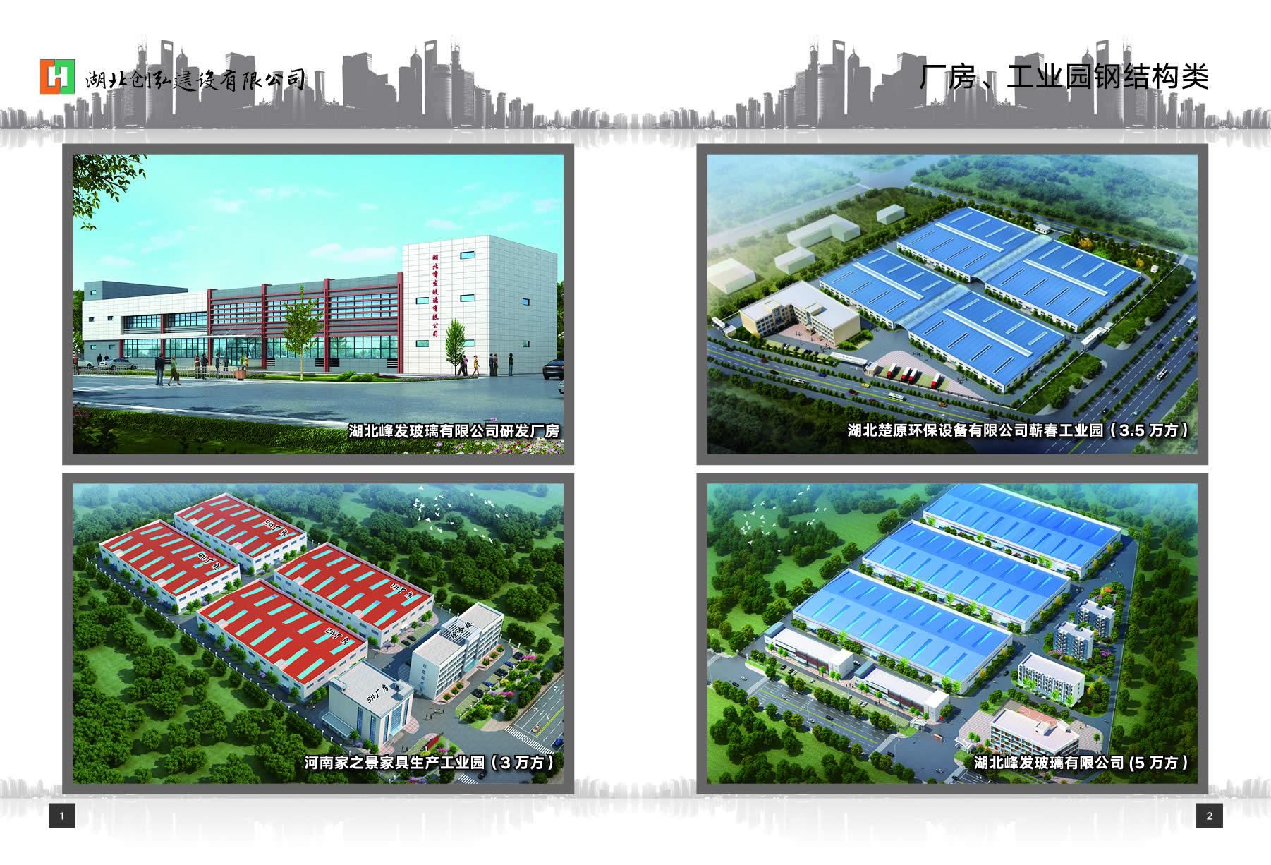 厂房、工业园钢结构类